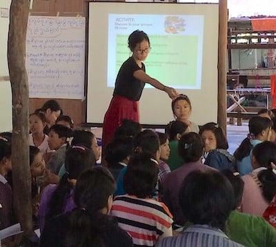 ActionAid business training