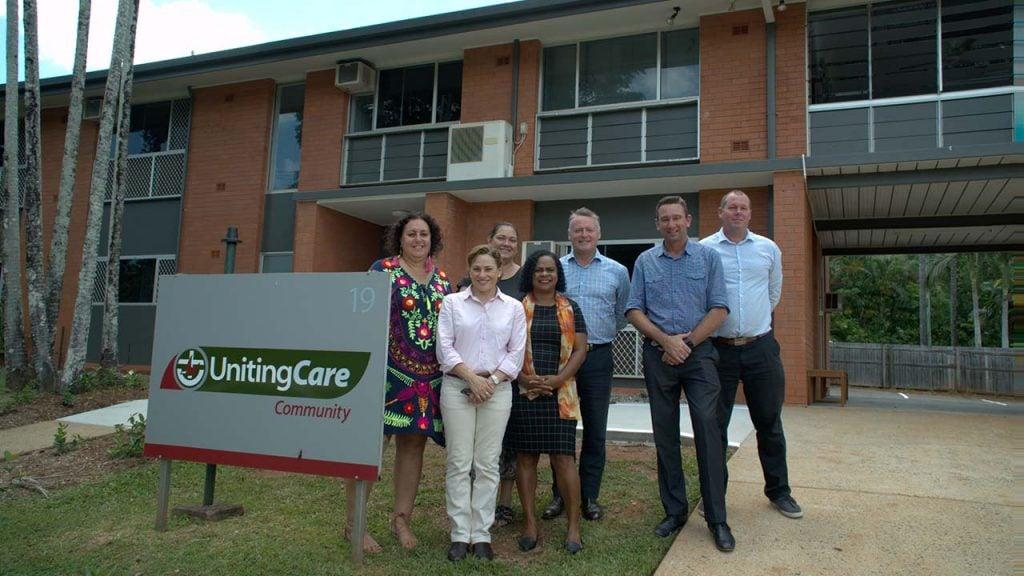 Above: Queensland Deputy Premier, Jackie Trad during her visit.