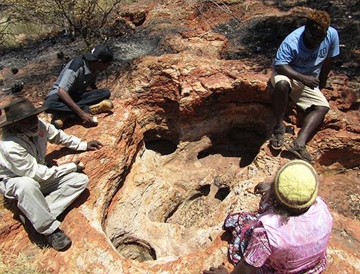 KJ group on rocks