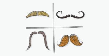 Movember's moustaches