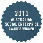 2015 Social Enterprise Awards Winner