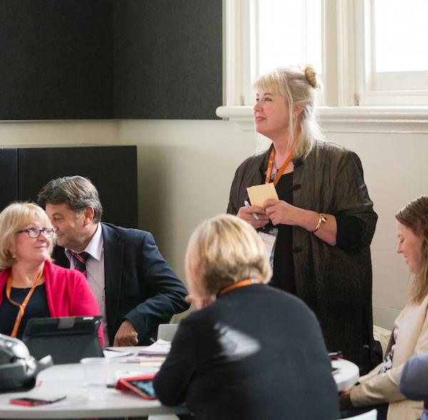 Participants share a common purpose