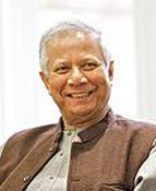 Yunus promotes social business