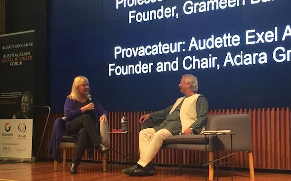 Yunus advocates social business